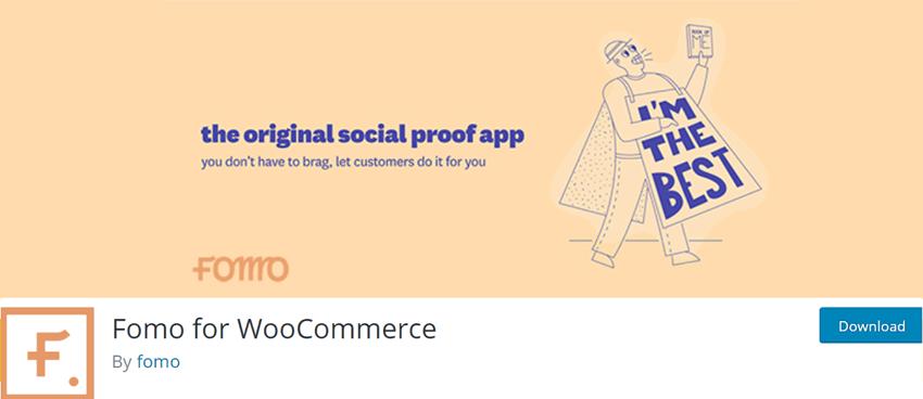 Fomo for WooCommerce