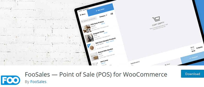 FooSales — Point of Sale (POS) for WooCommerce