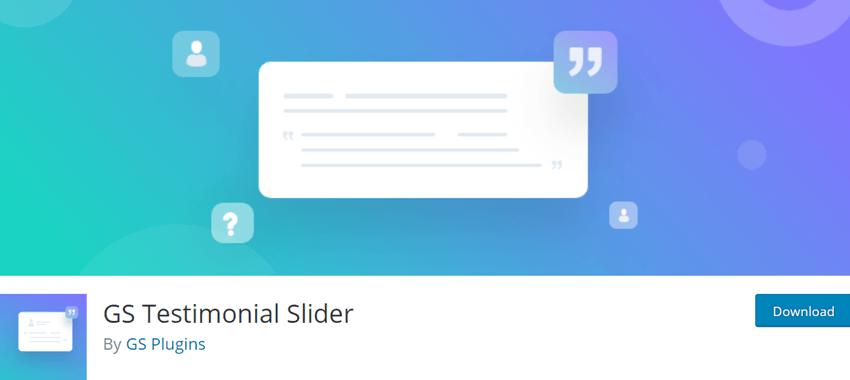 GS Testimonial Slider