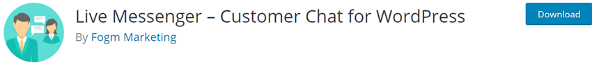 Live Messenger – Customer Chat for WordPress