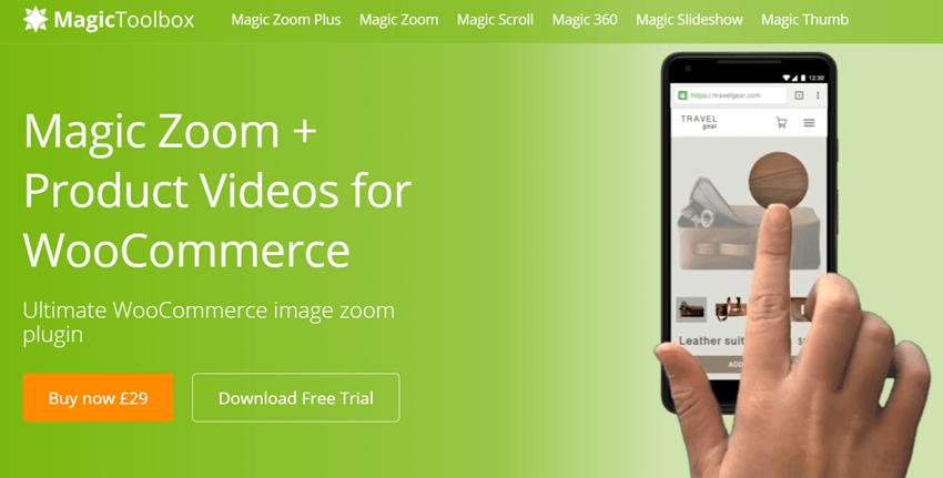 Magic Zoom Plus WooCommerce