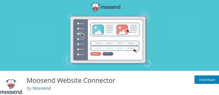 Moosend Website Connector