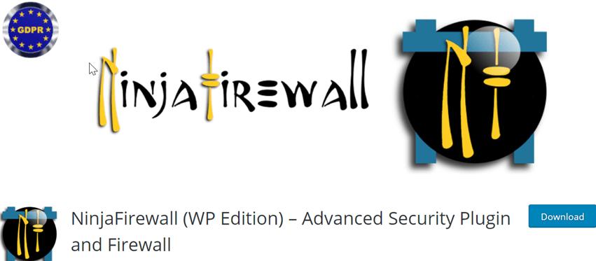 NinjaFirewall (WP Edition) – Advanced Security Plugin and Firewall