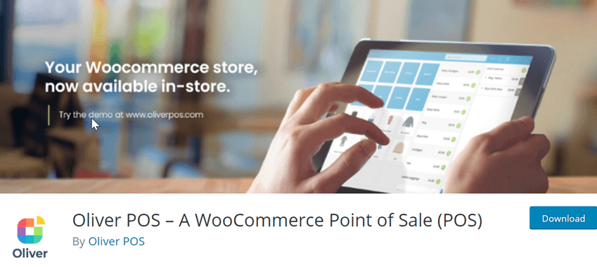 Oliver POS – A WooCommerce Point of Sale (POS)