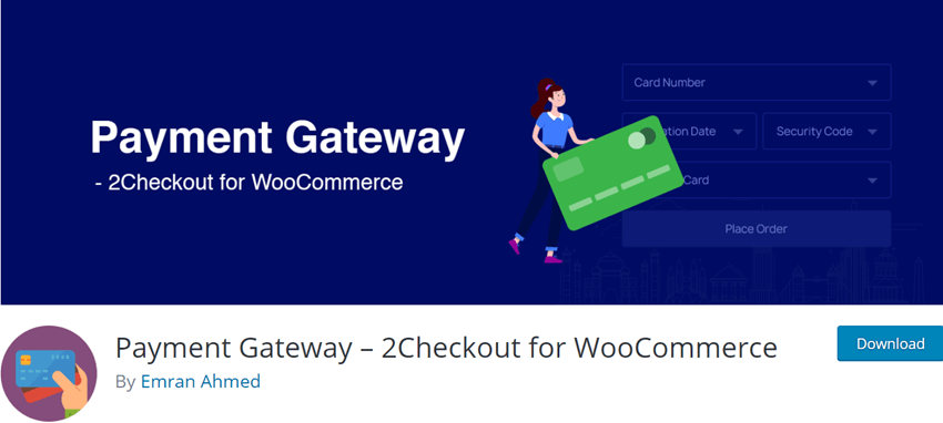 Payment Gateway - 2Checkout for WooCommerce