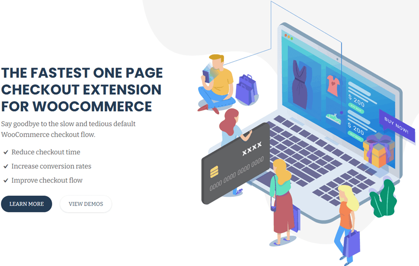 Quick Checkout - THE FASTEST ONE PAGE CHECKOUT EXTENSION FOR WOOCOMMERCE