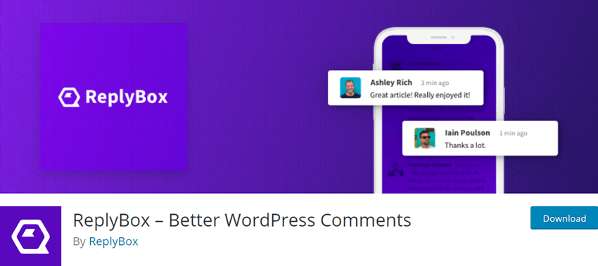ReplyBox – Better WordPress Comments