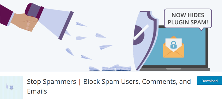 Stop Spammers - Block Spam Users, Comments, and Emails