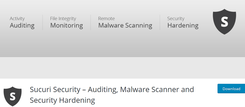 Sucuri Security – Auditing, Malware Scanner and Security Hardening