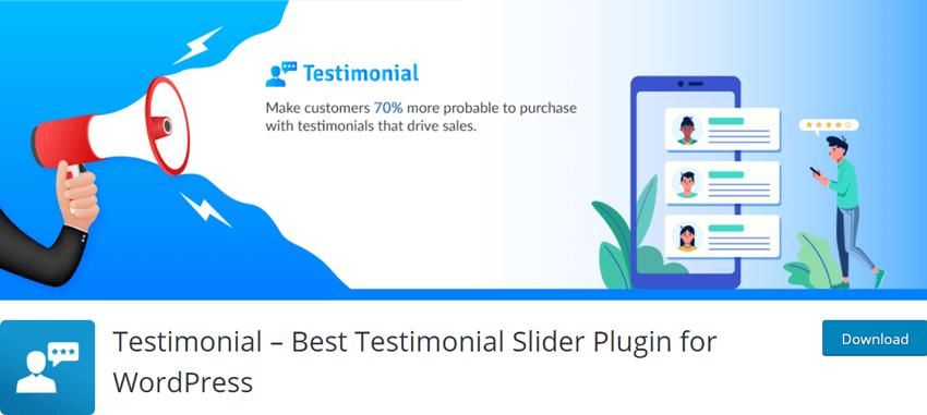 Testimonial – Best Testimonial Slider Plugin for WordPress