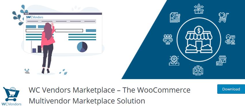 WC Vendors Marketplace–The WooCommerce Multivendor Marketplace Solution