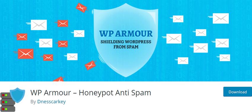 WP Armour – Honeypot Anti Spam