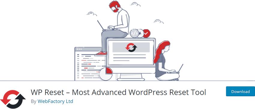 WP Reset – Most Advanced WordPress Reset Tool
