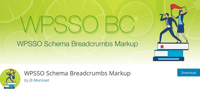 WPSSO Schema Breadcrumbs Markup