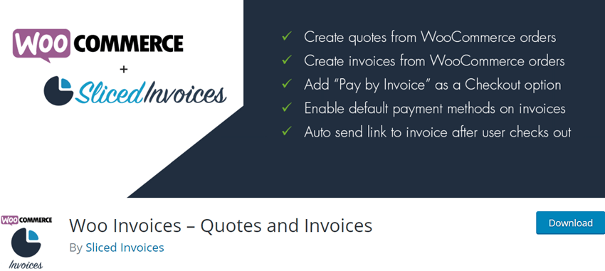 Woo Invoices – Quotes and Invoices