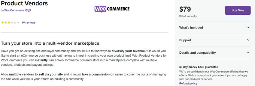WooCommerce Product Vendors