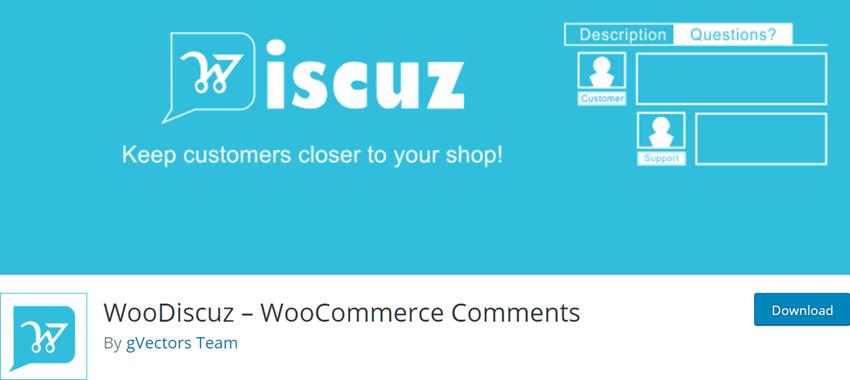 WooDiscuz – WooCommerce Comments