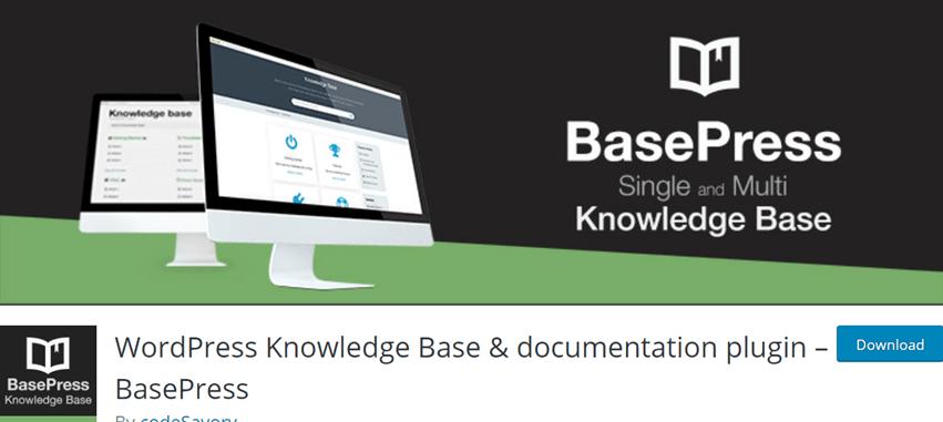 WordPress Knowledge Base & documentation plugin – BasePress
