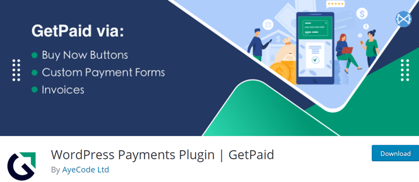 WordPress Payments Plugin - GetPaid