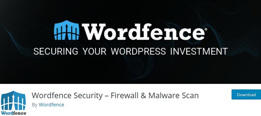 Wordfence Security – Firewall & Malware Scan