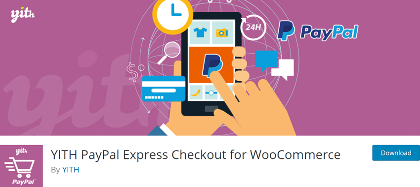 YITH PayPal Express Checkout for WooCommerce