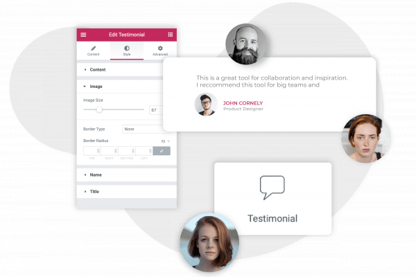 customer testimonial widget for wordpress