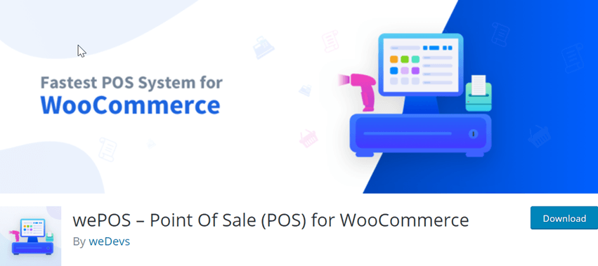 wePOS – Point Of Sale (POS) for WooCommerce