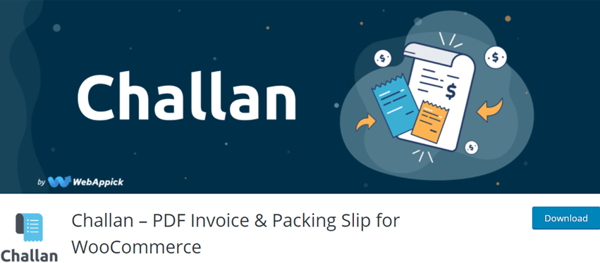 Challan – PDF Invoice & Packing Slip for WooCommerce