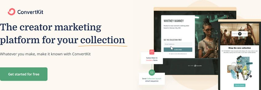 ConvertKit The creator marketing platform for your collection