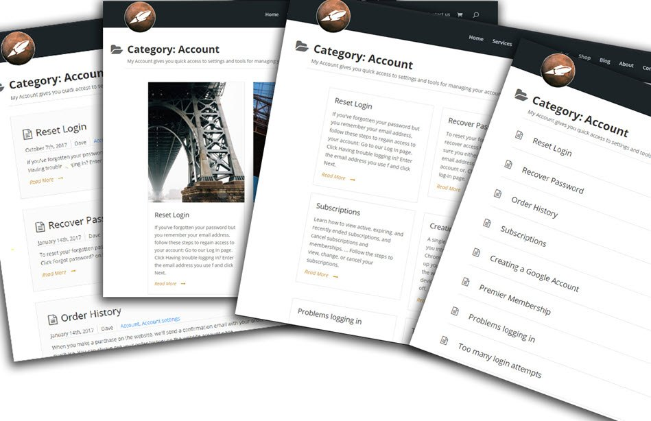 Documentation And FAQ Example