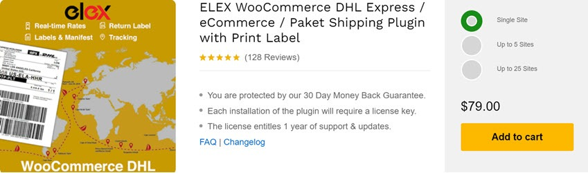 ELEX WooCommerce DHL Express eCommerce Paket Shipping Plugin with Print Label