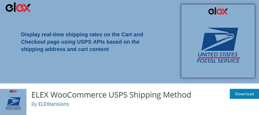 ELEX WooCommerce USPS Shipping Method