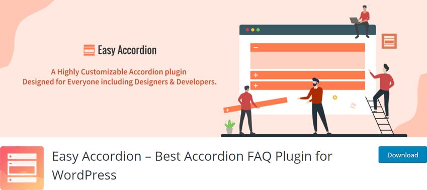 Easy Accordion – Best Accordion FAQ Plugin for WordPress