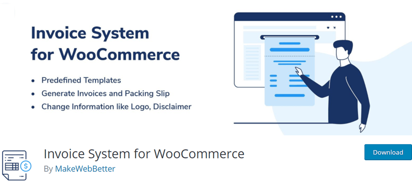 Invoice System for WooCommerce