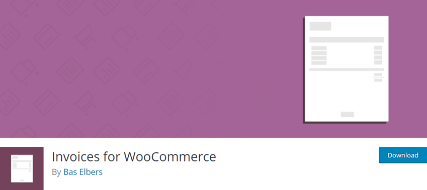 Invoices for WooCommerce