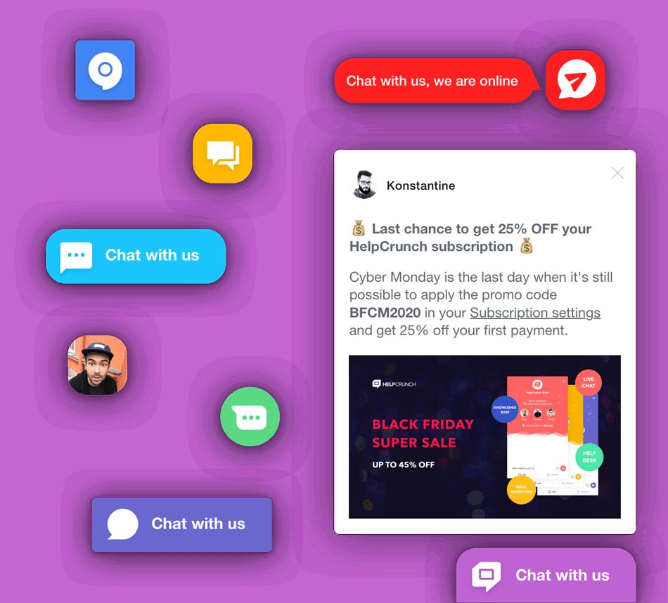 Knowledge Base & Live Chat Plugin Screenshot
