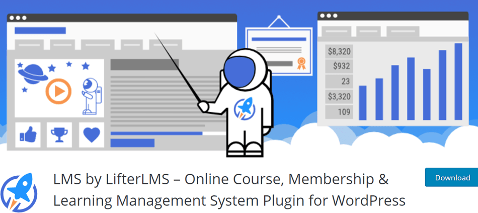 LMS by LifterLMS Online Course Membership & Learning Management System Plugin for WordPress