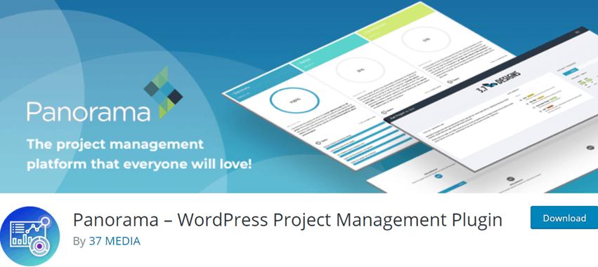 Panorama – WordPress Project Management Plugin
