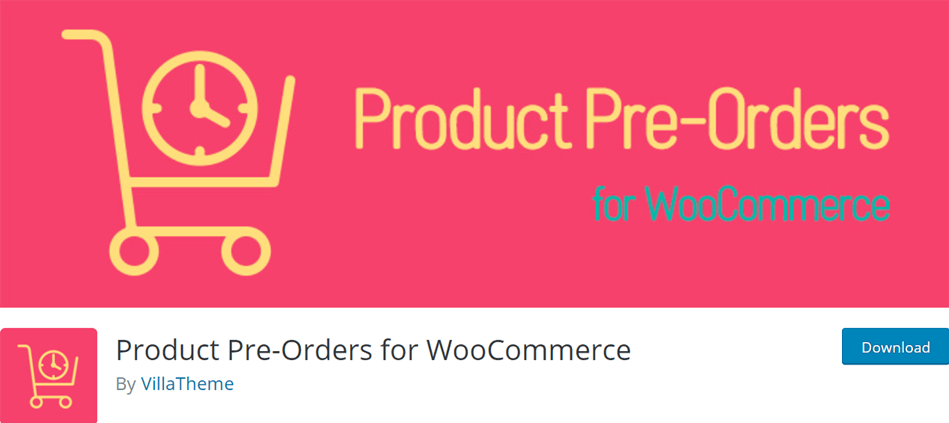 Product Pre-Orders for WooCommerce