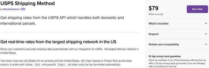 USPS Shipping Method