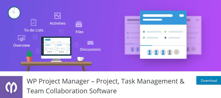WP Project Manager – Project, Task Management & Team Collaboration Software