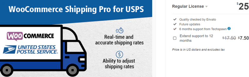 WooCommerce Shipping Pro for USPS (US Postal Service)