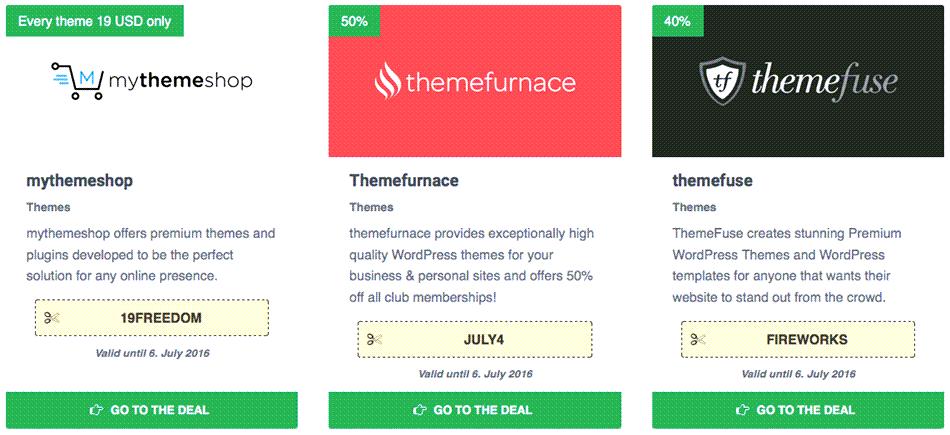 Wordpress Coupon Template Example