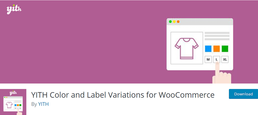 YITH Color and Label Variations for WooCommerce