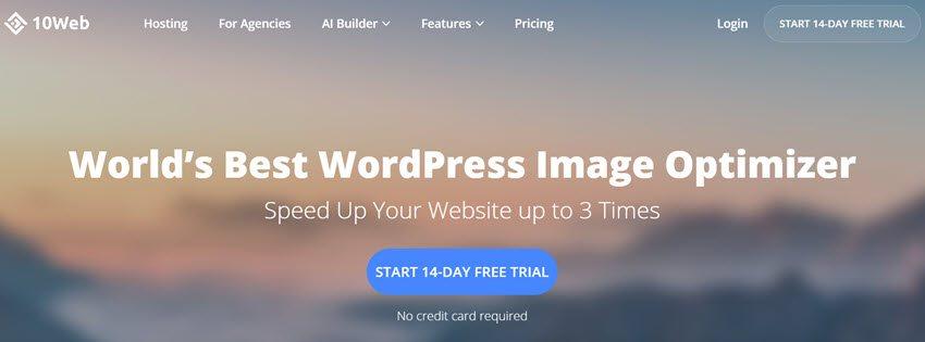 10Web World's Best WordPress Image Optimizer
