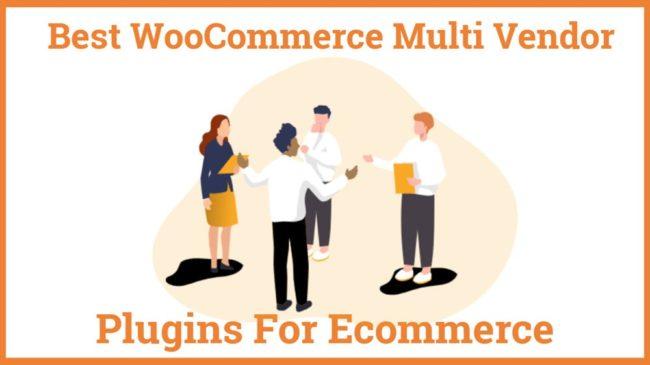 Best WooCommerce Multi Vendor Plugins