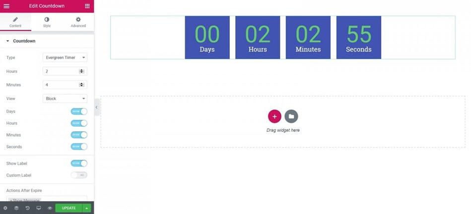 Countdown Widget Pro Setting