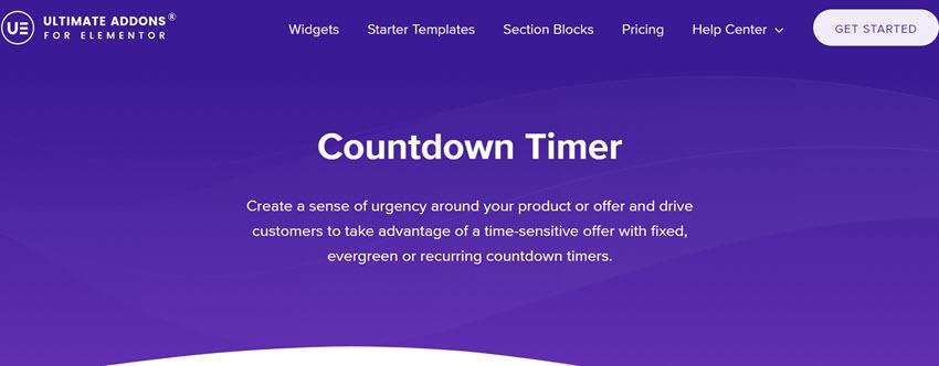 Countdowwn Timer Ultimate Addon Fo Elementor