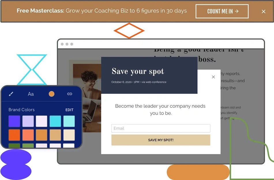 Design Your Popup Page For Lead Generation