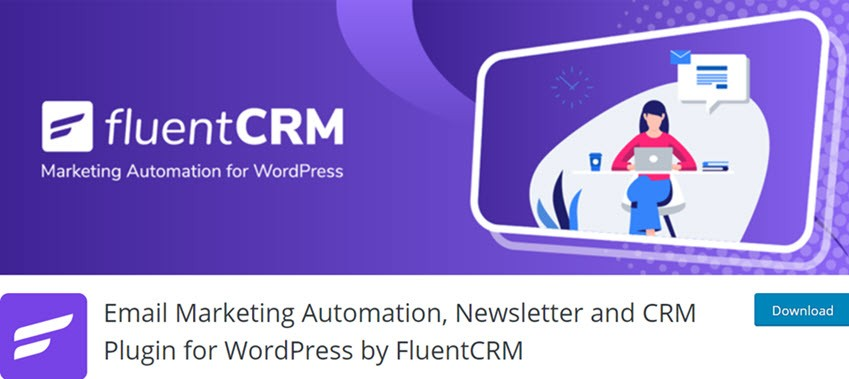 Email Marketing Automation, Newsletter and CRM Plugin for WordPress by FluentCRM